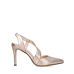 Nine West - Gold 'Binx' High Heel Court Shoes