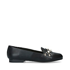 Carvela - Black 'Marine' Embellished Loafers