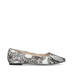 Carvela - Snake 'Mickey' Print Ballerina Shoes