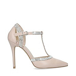 Carvela - Pink 'Liberate' Embellished Court Shoes