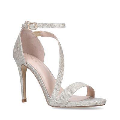8add2e365d16 Carvela - Metallic  Libertine  Gold Stiletto Heel Sandals