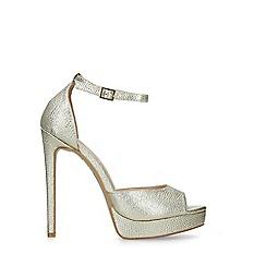 Carvela - Gold 'Lopez' High Heel Sandals
