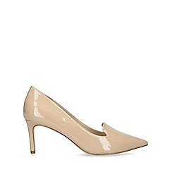 Nine West - Nude 'Hayle' Patent Stiletto Heel Court Shoes