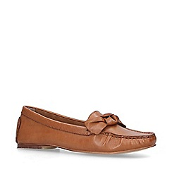 Nine West - Tan 'Layce' Leather Loafers