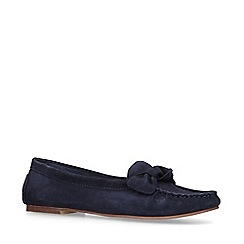 Nine West - Blue 'Layce' Suede Loafers