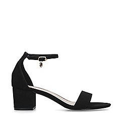 Miss KG - Black 'Percy' Block Heel Sandals