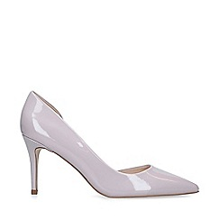 Miss KG - Grey 'Zelia' Mid Heel Court Shoes