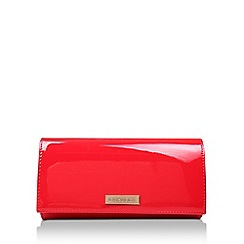 Carvela - Red 'Kareless' Patent Clutch Bag