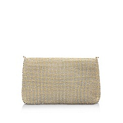 Carvela - Metallic 'Oana' Gold Clutch Bag