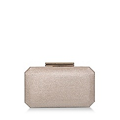 Carvela - Metallic 'Ola' Gold Clutch Bag