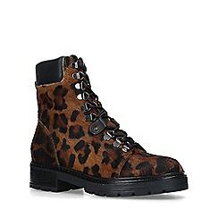 Carvela - Leopard 'Sacred' print hiker boots