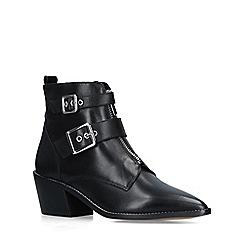 Carvela - Black 'Sacrement' leather cuban heel boots