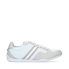 KG Kurt Geiger - White 'Judd' Lace Up Trainers