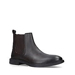 KG Kurt Geiger - Brown 'Barksdale' Formal Boots