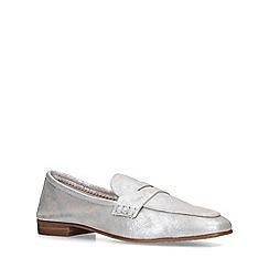 Vince Camuto - Metallic 'Macinda' silver loafers