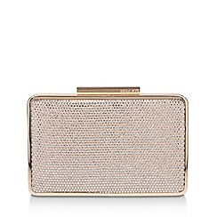 Miss KG - Nude 'Twinkie' Clutch Bag