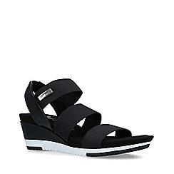 Anne Klein - Black 'Summertime' Mid Heel Sandals