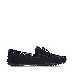 KG Kurt Geiger - Navy 'Kaleb' Slip On Loafers