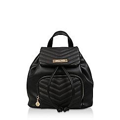 Miss KG - Black 'Hetty' Backpack