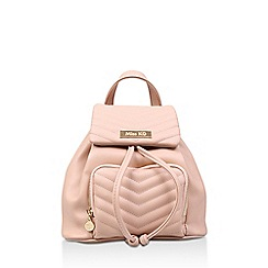 Miss KG - Nude 'Hetty' Backpack