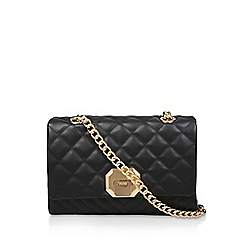 ALDO - Black 'Menifee' Quilted Cross Body Bag
