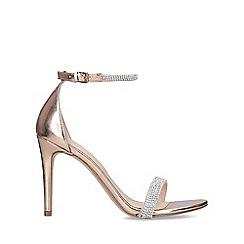 ALDO - Gold 'Aroclya' High Heel Sandals