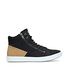 ALDO - Black 'Peohtric Mid Top' High Top Trainers