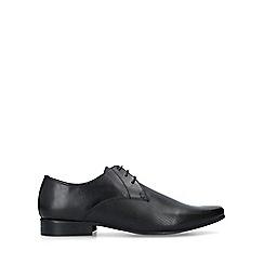 KG Kurt Geiger - Black 'Fairfax' Leather Derby Shoes