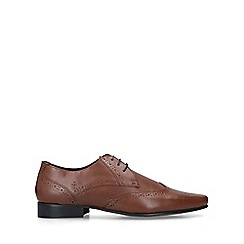 KG Kurt Geiger - Tan 'Fairleigh' Leather Brogues