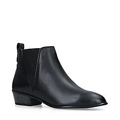 Carvela Comfort - Black 'Tony' Leather Chelsea Boots
