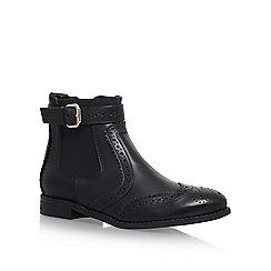 Carvela - Black 'Slow' flat chelsea boots