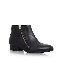 KG Kurt Geiger - Black 'Sally' low heel ankle boots