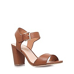 Carvela - Tan 'Sadie' heeled sandals