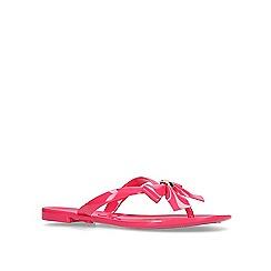 Carvela - Pink 'Star' Jelly Flip Flops