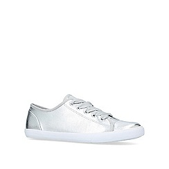 Carvela - Silver 'Jasper' low top trainers