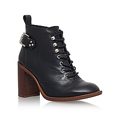 KG Kurt Geiger - Black 'Sweet' high heel ankle boots
