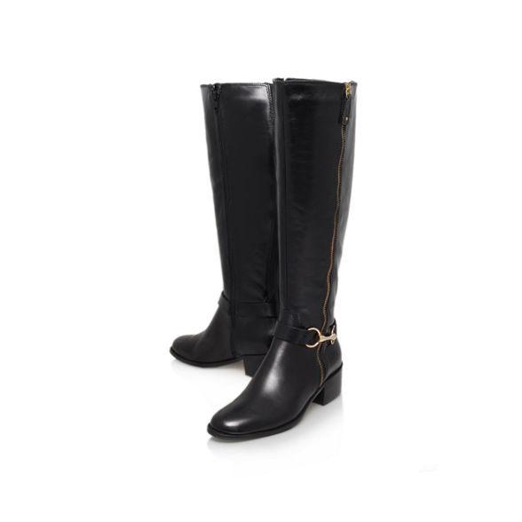 Black boot 'Waffle' Leather Carvela Carvela Leather Black 'Waffle' Leather 'Waffle' Black Carvela Black Carvela boot boot wAqSnBAfx1