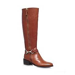 Carvela - Tan 'Waffle' Leather boot