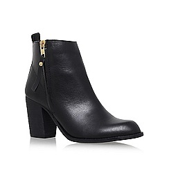 Carvela - Black 'Tanga' Heel ankle boot
