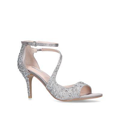 Carvela - Grey 'Gamma2' mid heel sandals