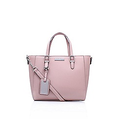 Carvela - Pink  Danna Winged Tote  handbag with shoulder straps 2764679c2d1e3