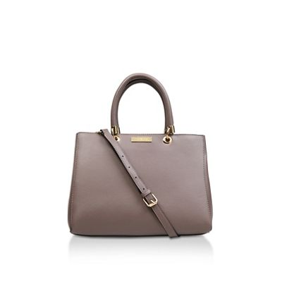 Carvela   Taupe 'darla Structured Tote' Tote Bag by Carvela