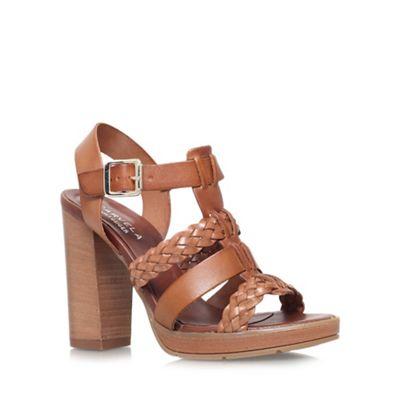 Carvela - Tan 'Krill' high heel sandal