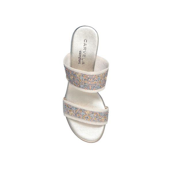 Comfort wedge heel sandal 'Sage' Carvela Taupe low 8ZnTnOq