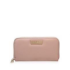 Carvela - Pink 'alis' zip around wallet large purse with zip fastening