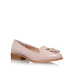 Miss KG - Natural 'Knight' low heel loafer