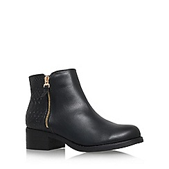 Miss KG - Black 'Janice' low ankle boot