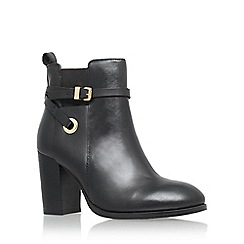Carvela - Black 'Stacey' high heel ankle boot with ankle strap