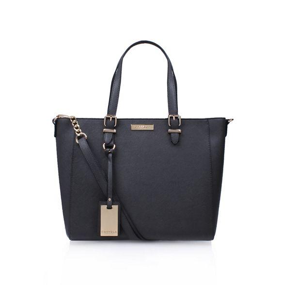 winged handbag Grey tote Carvela 'Dina' wHIqFEHCx