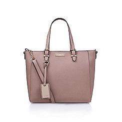 Carvela - Nude 'Dina' winged tote handbag